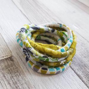 Vagány színek -  nyaklánc-karkötő
