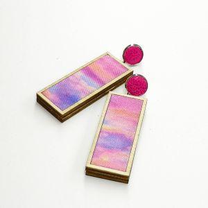 Woodstock pink és lila égbolt - kicsi