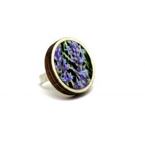 Levendula gyűrű