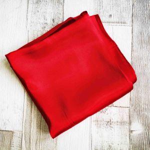 Selyemkendő hideg piros