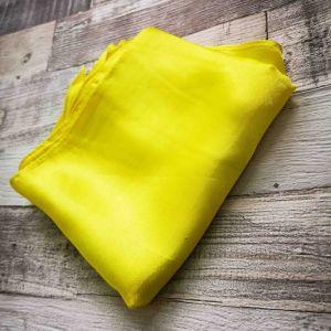 Selyemkendő hideg sárga