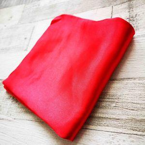 Selyemkendő meleg piros