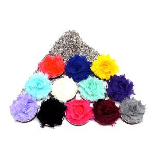 Rózsás nyakláncok választható színekben