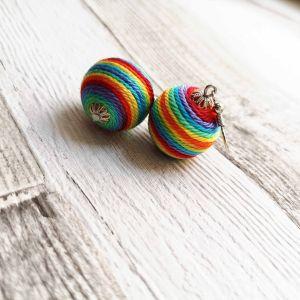 Tavaszi rét - classic golyós fülbevaló